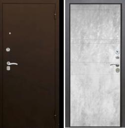 Дверь входная металлическая АРГУС Люкс-3к Марвин Бетон светлый