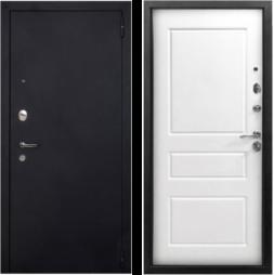 Дверь входная металлическая АРГУС Люкс-3К Оливер Белое Дерево