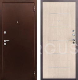 Дверь входная металлическая АРГУС ДА-26 Капучино