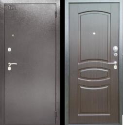 Дверь входная металлическая АРГУС ДА-61 Монако Венге Тисненный