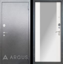 Дверь входная металлическая АРГУС ДА-85 Вояж Белое Дерево