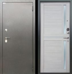 Дверь входная металлическая БЕРЛОГА Тринити Мирра Буксус