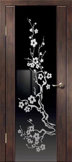 Межкомнатная дверь АЛЕКСАНДРОВСКИЕ Триплекс Сакура