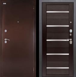 Дверь входная металлическая БЕРЛОГА Тринити Александра Вельвет