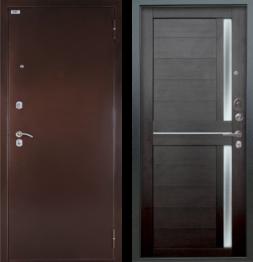 Дверь входная металлическая БЕРЛОГА Тринити Мирра Вельвет
