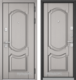 Дверь входная металлическая БУЛЬДОРС PREMIUM 90, 9PD-4 МДФ/МДФ
