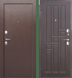 Дверь входная металлическая FERRONI Гарда 8мм  Венге