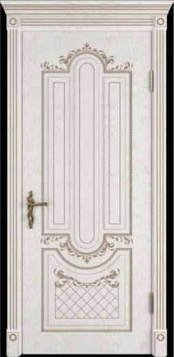 Межкомнатная дверь ВФД Alexandria. BIANCO CLASSIC PG