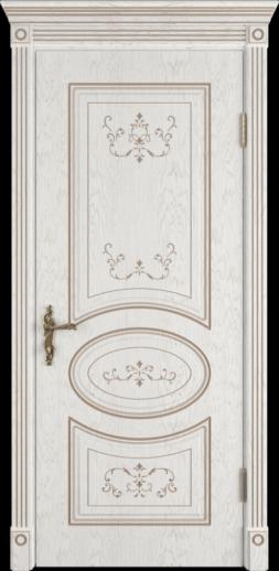 Межкомнатная дверь ВФД Amalia. BIANCO CLASSIC PG