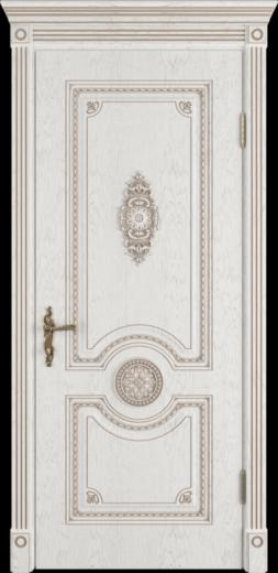 Межкомнатная дверь ВФД Greta. BIANCO CLASSIC PG