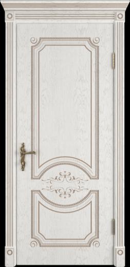 Межкомнатная дверь ВФД Milana. BIANCO CLASSIC PG