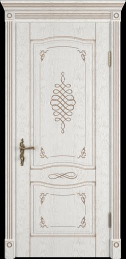 Межкомнатная дверь ВФД Vesta. BIANCO CLASSIC PG