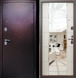 Дверь входная металлическая СТРАЖ 3K Mirror