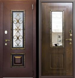 Дверь входная металлическая СТРАЖ Ажур
