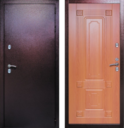 Дверь входная металлическая СТРАЖ Тепло 3К с терморазрывом