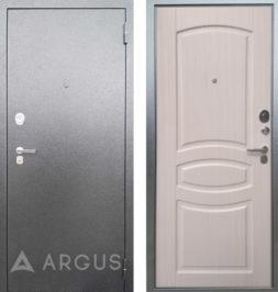 Дверь входная металлическая АРГУС ДА-61 Монако Белый Ясень