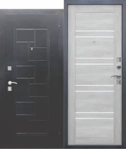 Дверь входная металлическая FERRONI Доминанта Серебро Царга