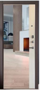 Дверь входная металлическая СТРАЖ 3K Панорама