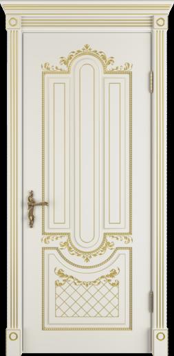 Межкомнатная дверь ВФД Alexandria, IVORY PG