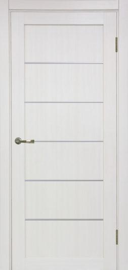 Межкомнатная дверь Оптима Порте. Турин 501.1 АРР_SC_, Ясень перламутр с молдингом
