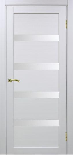Межкомнатная дверь Оптима Порте. Турин 505,  Белый монохром