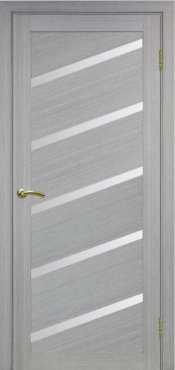 Межкомнатная дверь Оптима порте. Турин 506 U, Дуб серый