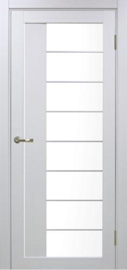 Межкомнатная дверь Оптима Порте. Турин 524 АСС , Белый монохром