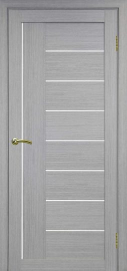 Межкомнатная дверь Оптима порте. Турин 524, Дуб серый