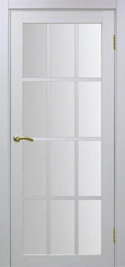 Межкомнатная дверь Оптима порте. Турин 542, Белый лед