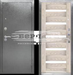 Дверь входная металлическая БЕРЛОГА Тринити Александра ривьера айс